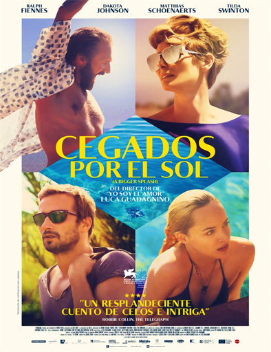 Poster de A Bigger Splash (Cegados por el sol)