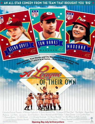 Poster de A League of Their Own (Un equipo muy especial)