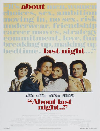 Poster de About Last Night... (¿Qué pasó anoche?)