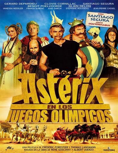 Poster de Astérix en los Juegos Olímpicos