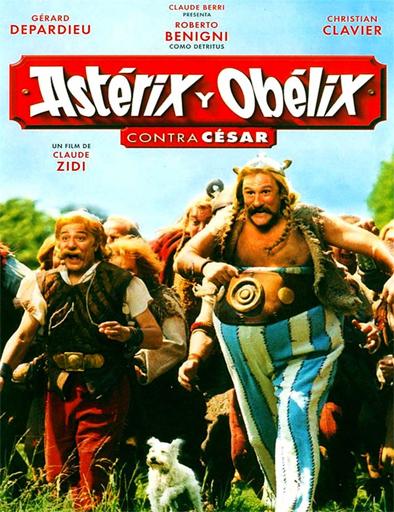 Poster de Astérix y Obélix contra César