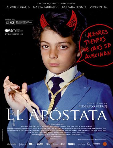 Poster de El apóstata