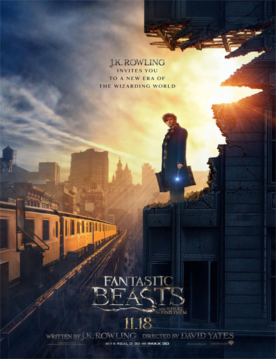 Ver Animales fantásticos y dónde encontrarlos (2016) online Fantastic Beasts and Where to Find Them