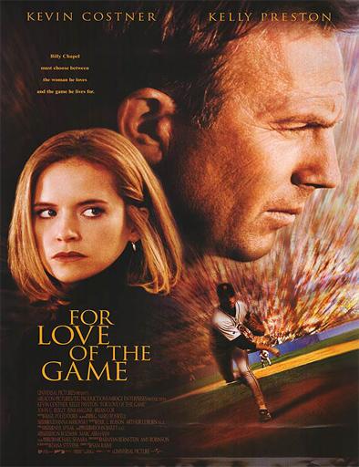 Poster de For Love of the Game (Entre el amor y el juego)
