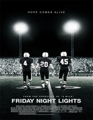 Poster de Friday Night Lights (Luces de viernes noche)