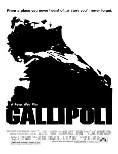 Poster de Gallipoli