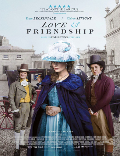 Poster de Love and Friendship (Amor y amistad)