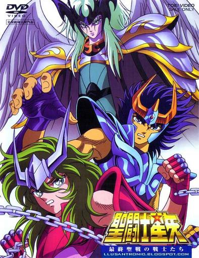 Poster de Los Caballeros del Zodiaco: El guerrero de Armageddon
