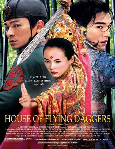 Poster de La casa de las dagas voladoras