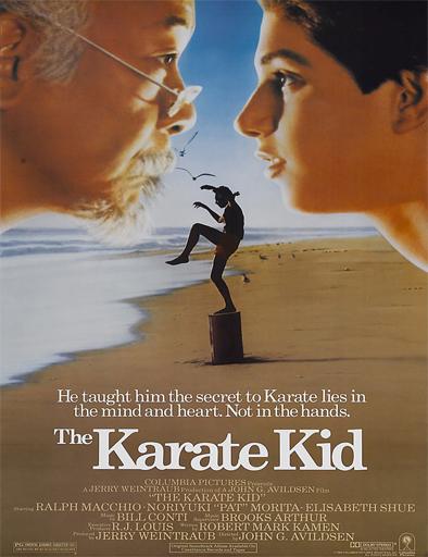 Poster de Karate kid, el momento de la verdad