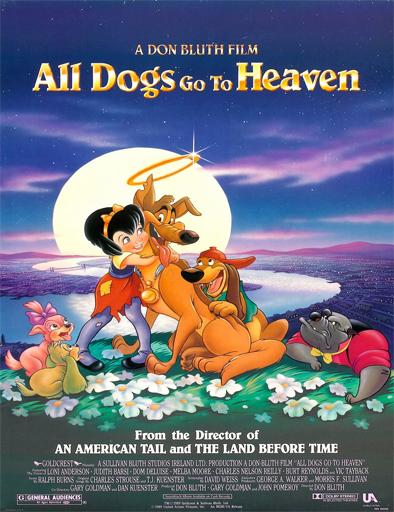 Poster de Todos los perros van al cielo