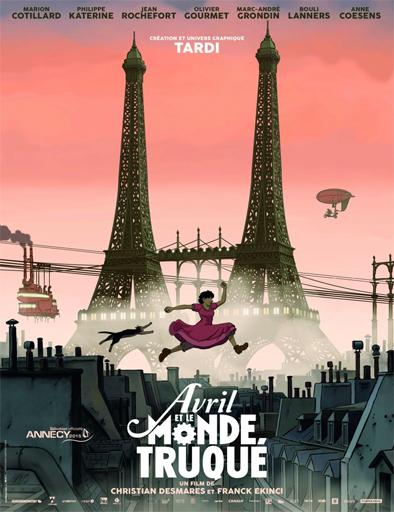 Poster de Avril et le monde truqué (April and the Twisted World)