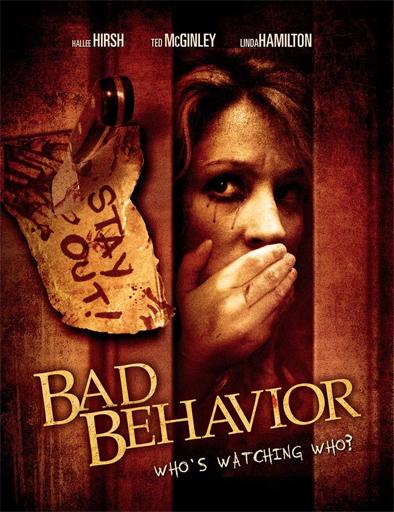 Poster de Bad Behavior (Mala conducta)