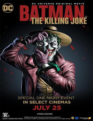 Poster de Batman: La broma asesina