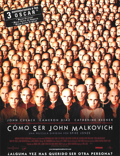 Poster de Being John Malkovich (¿Quieres ser John Malkovich?)