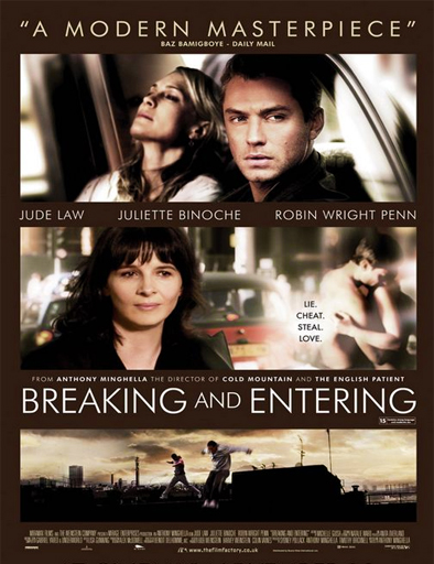 Poster de Breaking and Entering (Violación de domicilio)