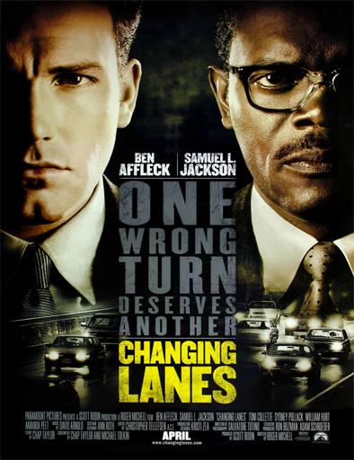 Poster de Changing Lanes (Fuera de control)