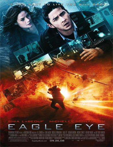 Poster de Eagle Eye (Control total)
