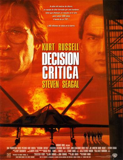Poster de Executive Decision (Decisión crítica)