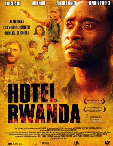 Poster de Hotel Rwanda
