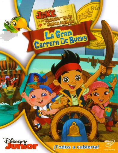 Poster de Jake y los piratas del País de Nunca Jamás: La gran carrera de Bucky