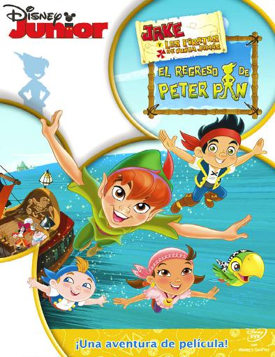 Poster de Jake y los piratas del país de nunca jamás: Peter Pan regresa