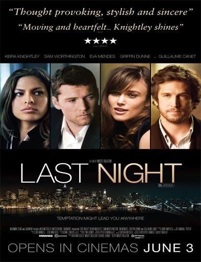 Poster de Last Night (La última noche)
