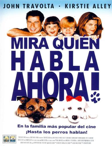 Poster de Mira quién habla ahora