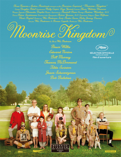 Poster de Moonrise Kingdom (Un reino bajo la luna)