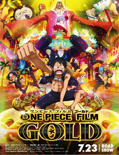 Poster de One Piece Film Gold