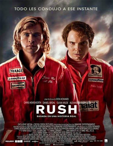Poster de Rush: pasión y gloria