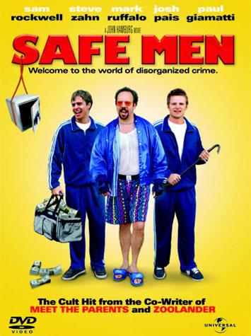 Poster de Safe Men (Dos torpes en apuros)