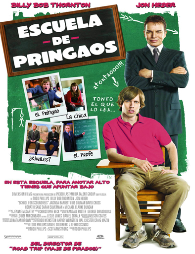 Poster de School for Scoundrels (Escuela de pringaos)