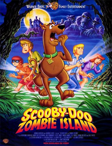 Poster de Scooby-Doo en la isla de los zombis
