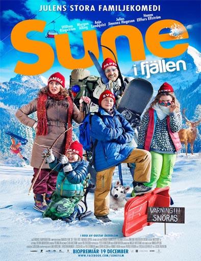 Poster de Los Andersson en la nieve