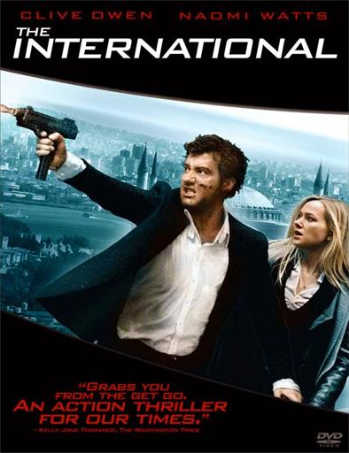Poster de The International (Agente internacional)