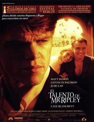 Poster de The Talented Mr. Ripley (El talentoso Sr. Ripley)