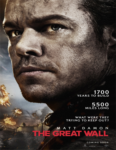 Poster de The great wall (La gran muralla)