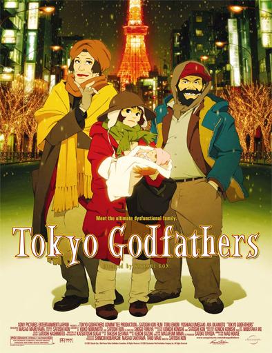 Poster de Tokyo Goddofazazu (Tokyo Godfathers)