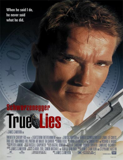 Poster de True Lies (Mentiras verdaderas)