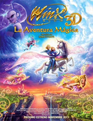 Poster de Winx Club 3D: La aventura mágica