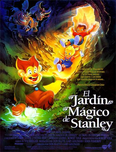 Poster de A Troll in Central Park (El jardín mágico de Stanley)