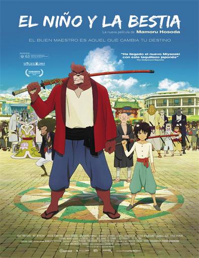 [Película] Bakemono no ko (El ñiño y la bestia) Bakemono_no_Ko_poster_espa%C3%B1ol
