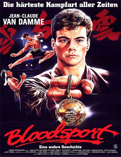 Ver Bloodsport Contacto Sangriento 1988 Online