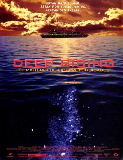 Poster de Deep Rising (El Misterio de las profundidades)