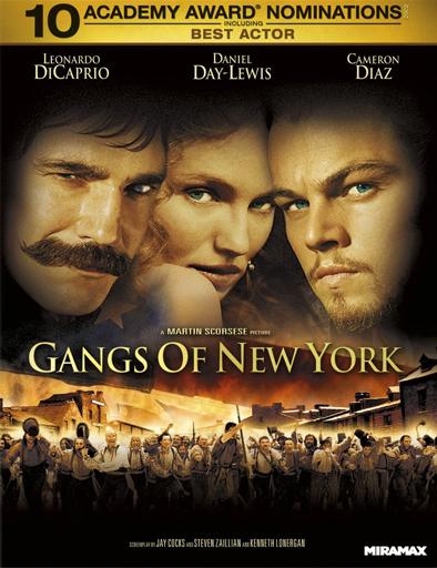 Poster de Gangs of New York (Pandillas de Nueva York)