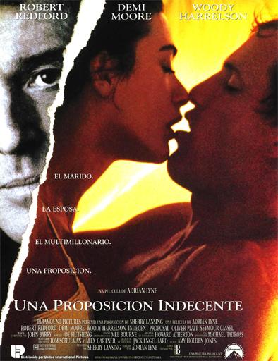 Poster de Indecent Proposal (Una propuesta indecente)