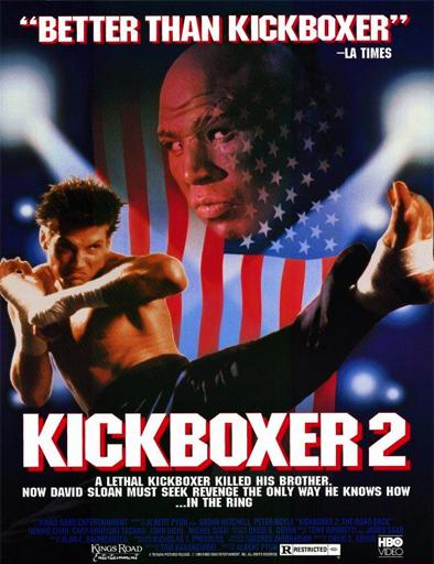 Poster de Kickboxer 2