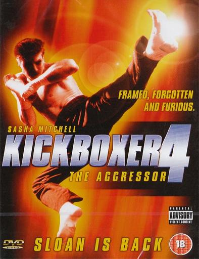 Poster de Kickboxer 4: El agresor