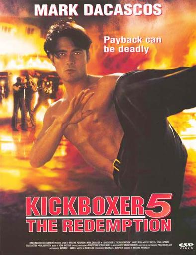 Poster de Kickboxer 5: Revancha